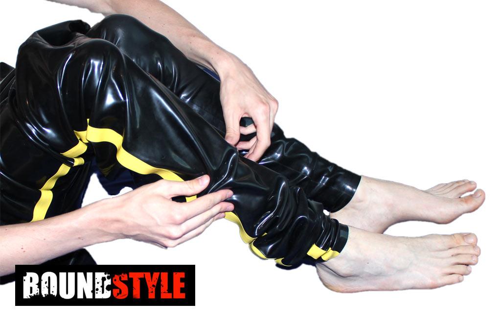 latex richtig anziehen klitorisuntersuchung