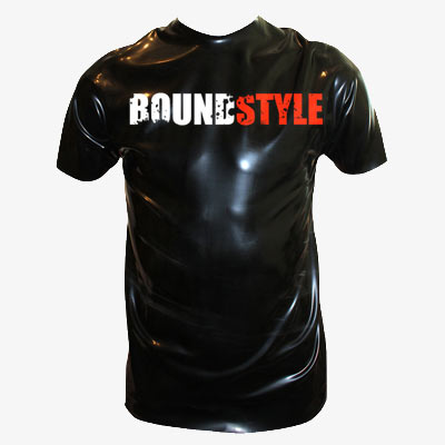 Latex-T-Shirt boundstyle